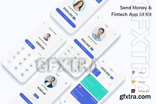 Send Money & Fintech App UI Kit XLBBF7F