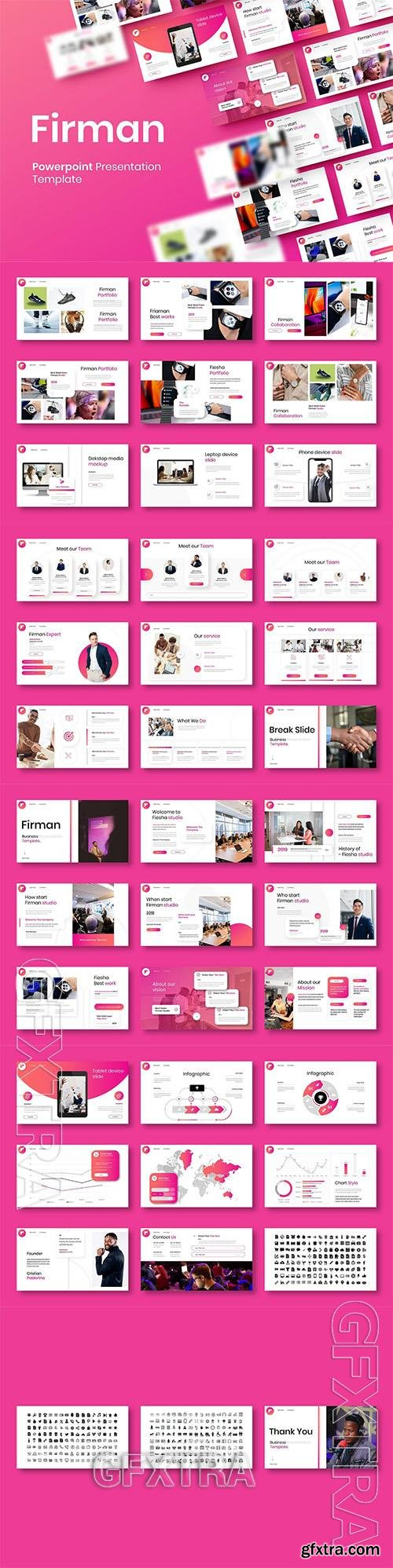 Firman - Business Powerpoint, Keynote and Google Slides Template