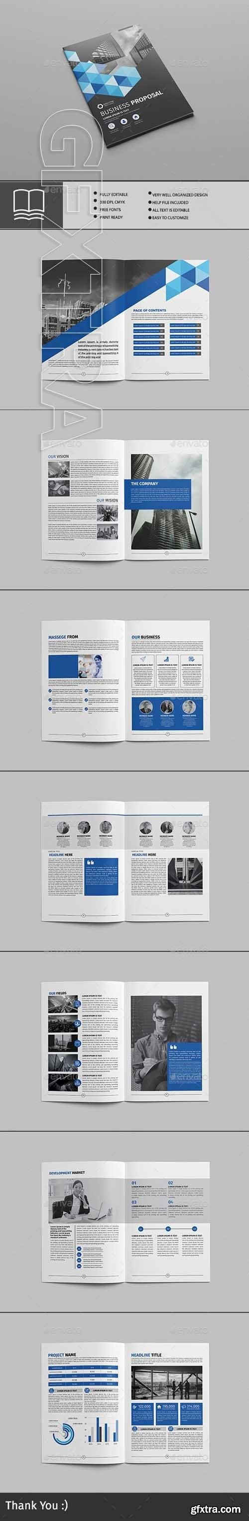 GraphicRiver - Business proposal 20580754