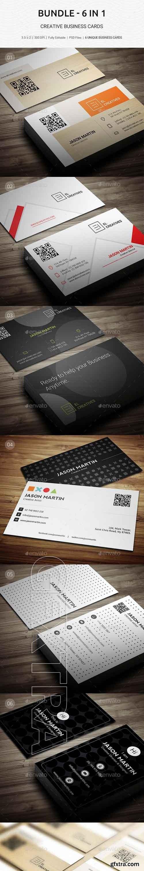 GraphicRiver - Bundle - Pro Creative Corporate Business Cads - B44 20576904