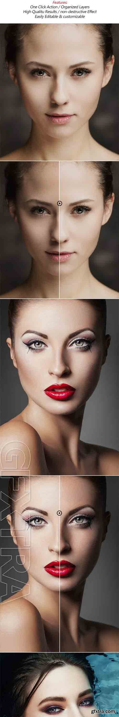 GraphicRiver - Beauty Skin Photoshop Action 20571575