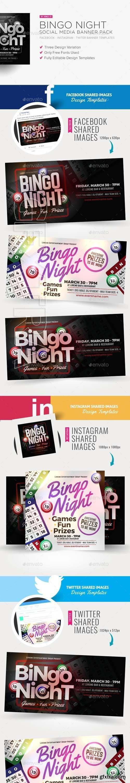 GraphicRiver - Bingo Night Social Media Banner Pack 20568879