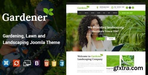 ThemeForest - Gardener v1.7 - Gardening Lawn and Landscaping Joomla Theme - 16847468