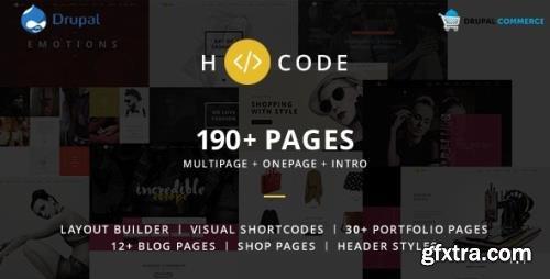 ThemeForest - H-code v1.4 - Multipurpose Commerce Drupal theme - 13494560