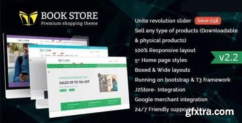 ThemeForest - Bookstore v2.2 - Responsive Joomla Ecommerce Template - 13281243