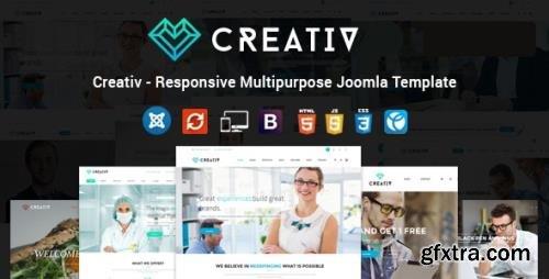 ThemeForest - Creativ v1.9 - Responsive Multipurpose Joomla Template - 14838060