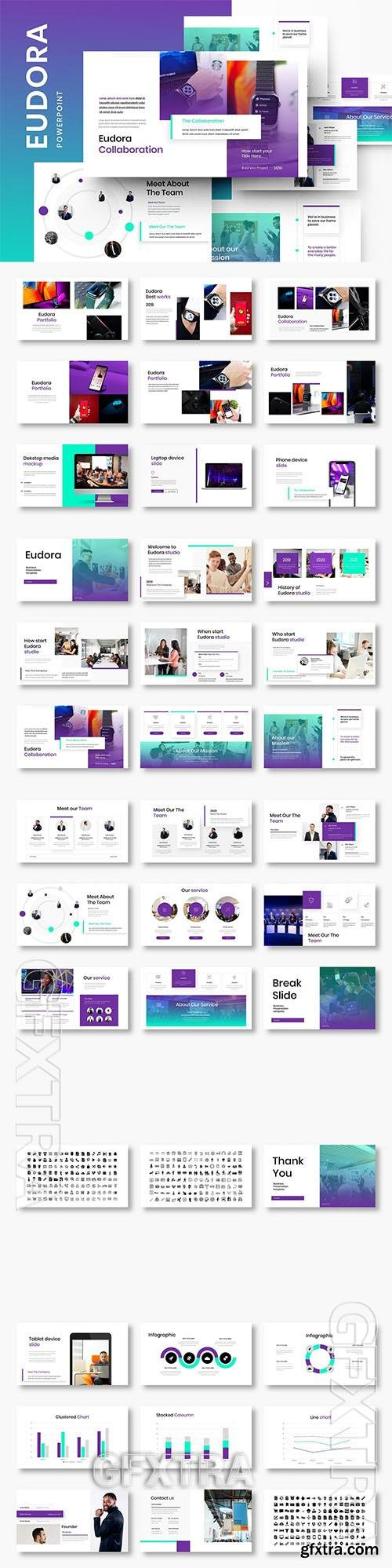 Eudora - Business Powerpoint, Keynote and Google Slides Template
