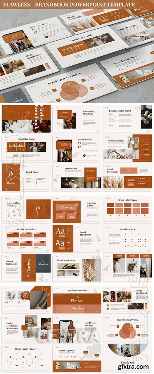 Flawless - Brandbook Powerpoint Template U52TDEL