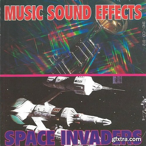 Music Sound Effects Space Invaders WAV