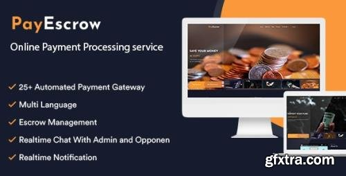 CodeCanyon - PayEscrow v2.0 - Online Payment Processing Service - 32719701