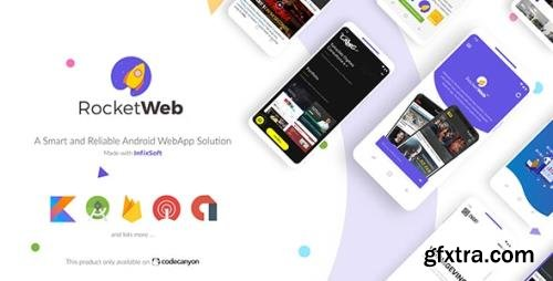 CodeCanyon - RocketWeb v1.4.0 - Configurable Android WebView App Template - 22985174