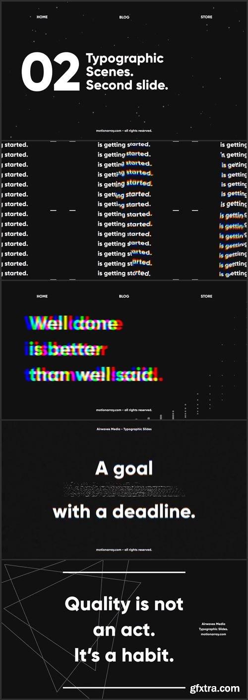 Dark Typo Typographic Slides 416233