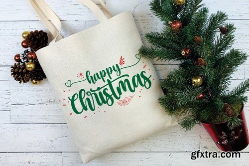 Christmas Blessing - Modern Calligraphy Font