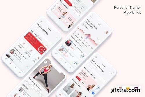 Personal Trainer App UI Kit