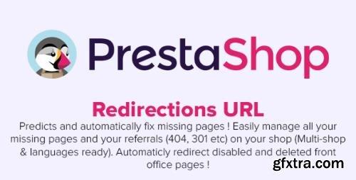 Redirections URL (301 / Auto-fixing / Multishop / SEO) v1.7.51 - PrestaShop Module