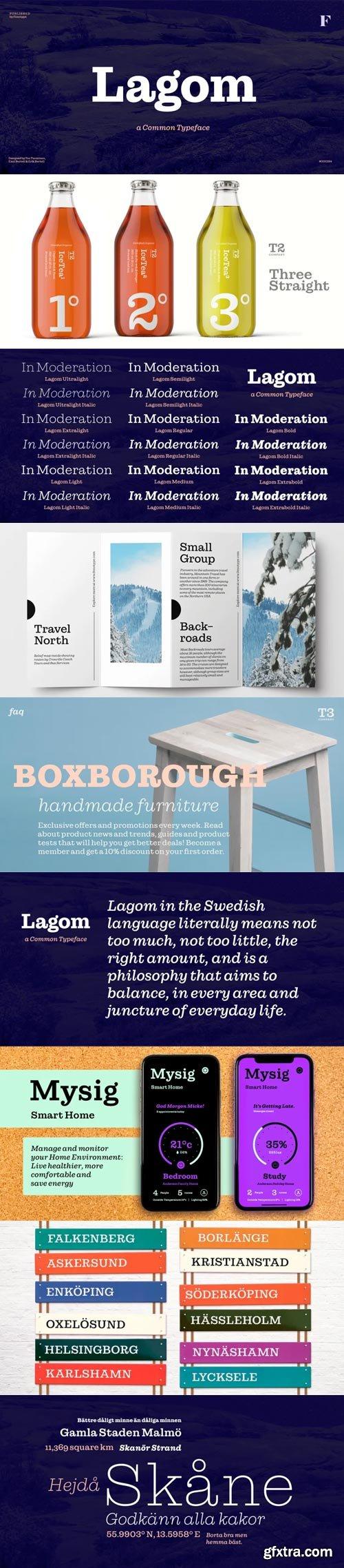 Lagom Font Family