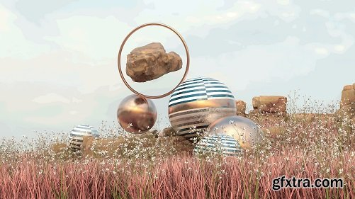 Creative Thinking with Cinema 4D: Key Techniques for 3D Landscape