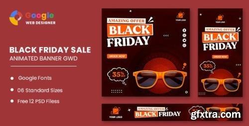 CodeCanyon - Black Friday Sale Fashion HTML5 Banner Ads GWD v1.0 - 33905470