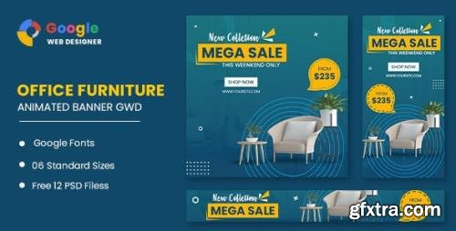 CodeCanyon - Office Furniture Google Adwords HTML5 Banner Ads GWD v1.0 - 33905453