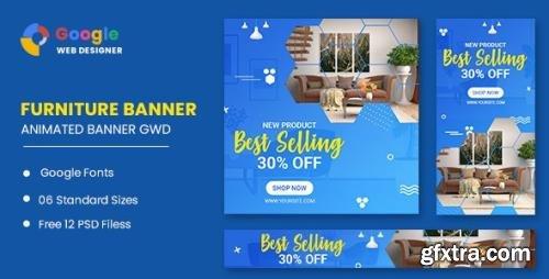 CodeCanyon - Furniture Google Adwords HTML5 Banner Ads GWD v1.0 - 33905456