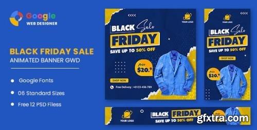 CodeCanyon - Black Friday Sale HTML5 Banner Ads GWD v1.0 - 33905463
