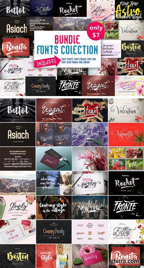 BUNDLE Fonts Colection 2175428