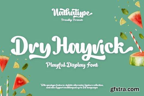 Dry Hayrick Font