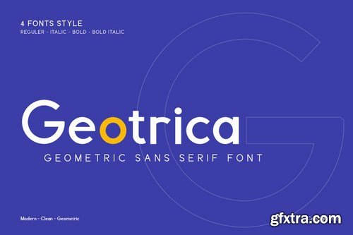 Geotrica - Business Font
