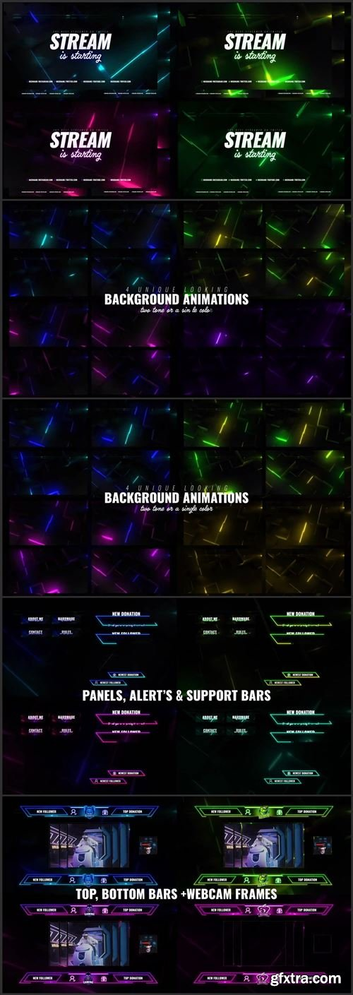 Neon Cube Stream Package 1006344