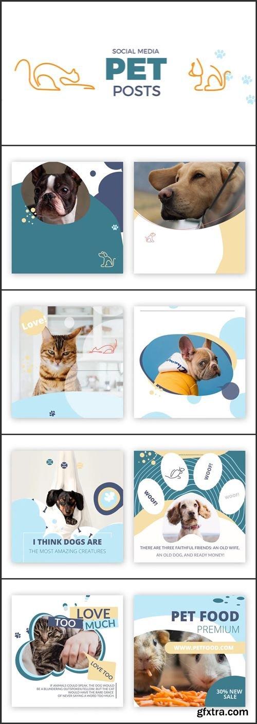 Social Media Pet Posts 1006913