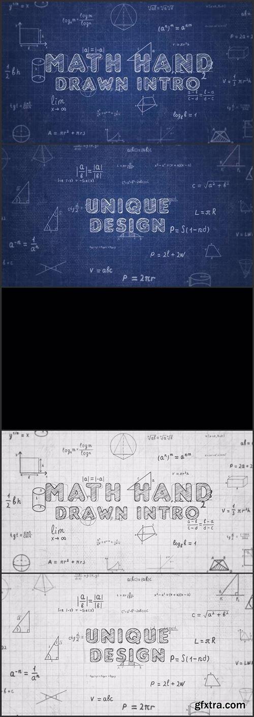 Math Hand Draw Intro 1034622