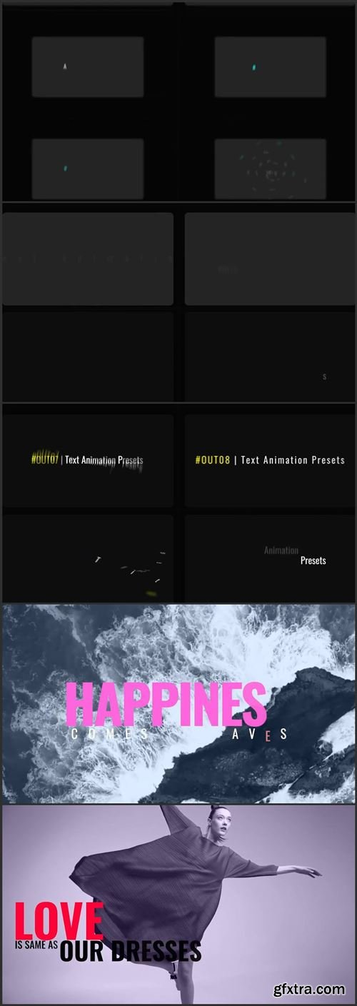 Text Animation Presets Vii 746409