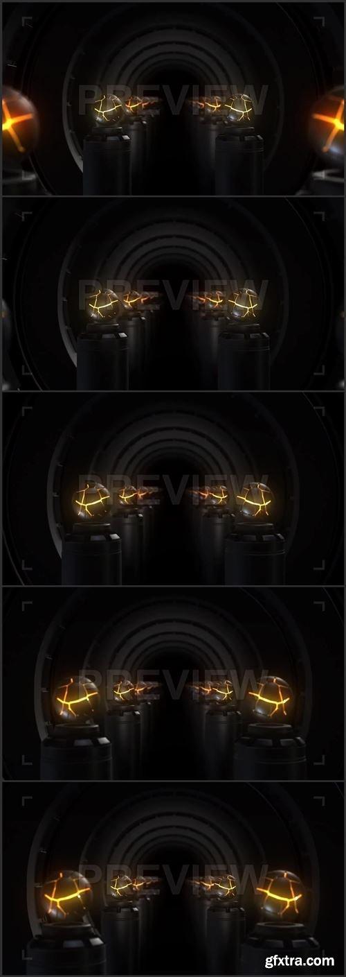 Corridor Of Lava Spheres 416787
