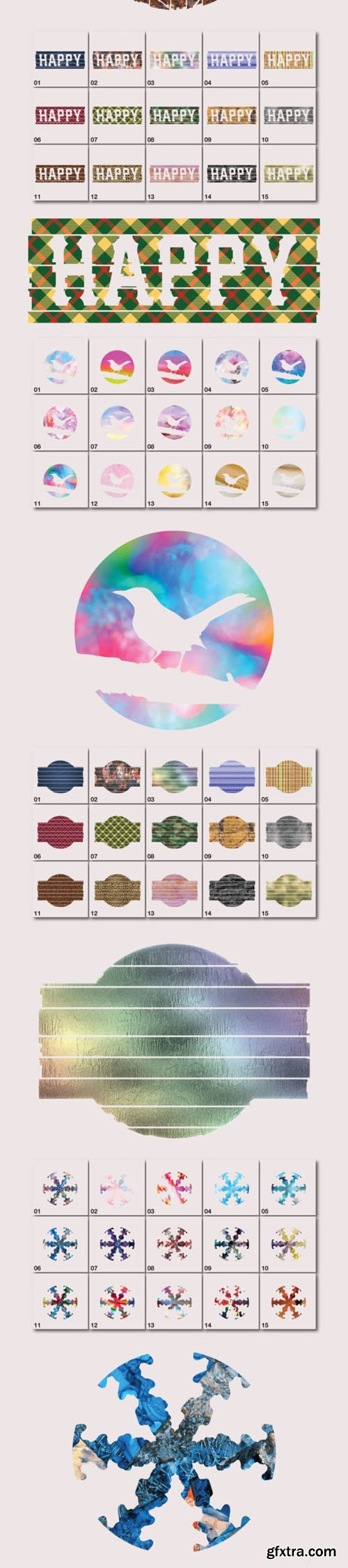 120 Background Pattern Vector Templates Collection