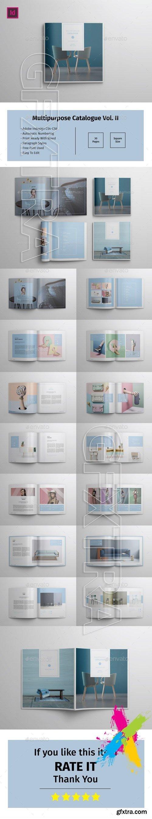 GraphicRiver - Multipurpose Square Catalogue Vol II 19854918