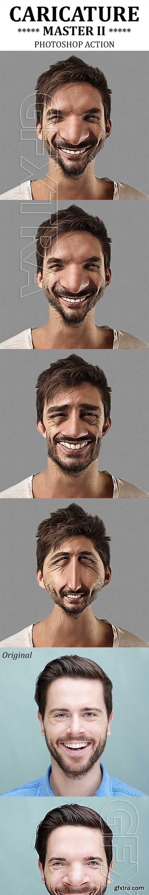 GraphicRiver - Caricature Master II Photoshop Action 19852002