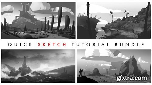 Gumroad - Quick Sketch Tutorial Bundle