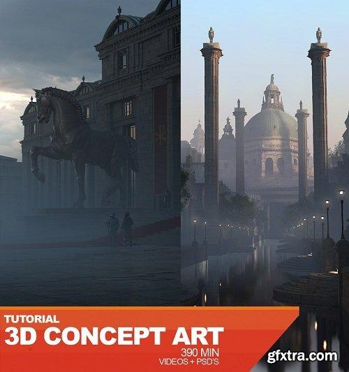 Gumroad – 3D Concept Art with Anthony Eftekhari
