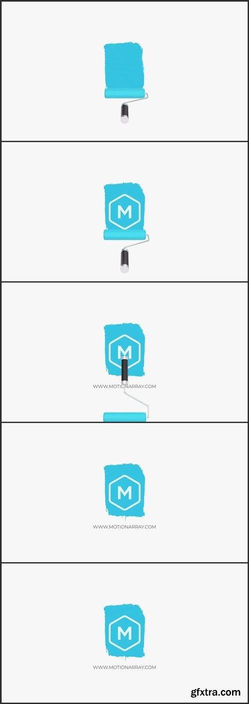 Paint Roller Logo Animation 1002026