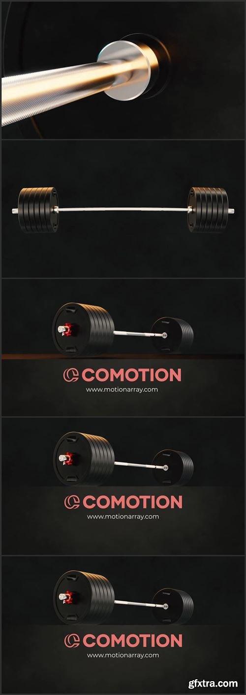 Gym Fitness Logo Reveal 1004757