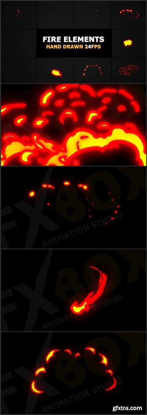 Flash Fx Flame Elements 1034745