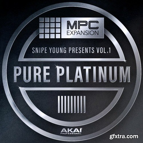 AKAI MPC Software Expansion Snipe Young Presents Pure Platinium Vol 1