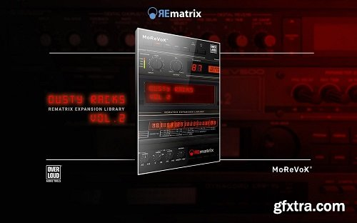 MoReVoX Dusty Racks Vol 2 for REmatrix
