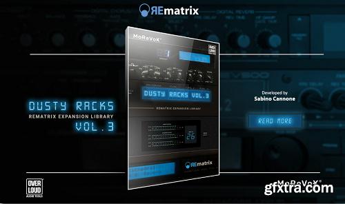 MoReVoX Dusty Racks Vol 3 for REmatrix
