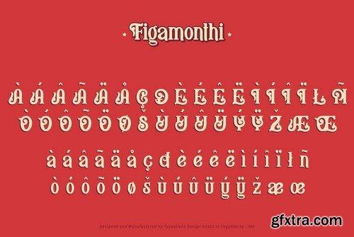 Figamonthi Font