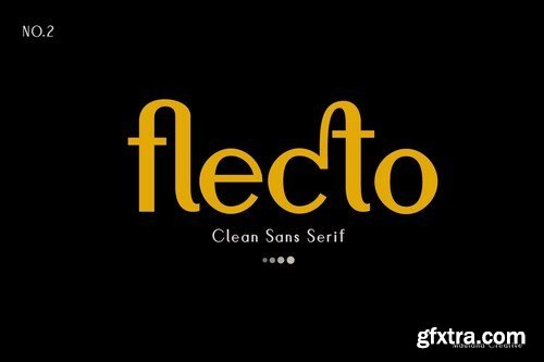 Flecto Clean Sans Serif
