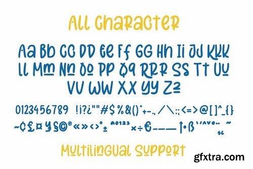 Merciful - Fun Sans Serif Font