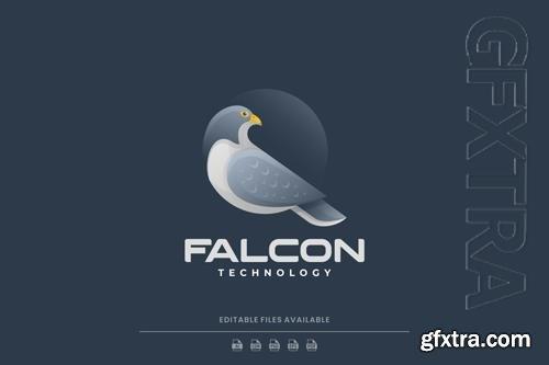 Falcon Gradient Logo