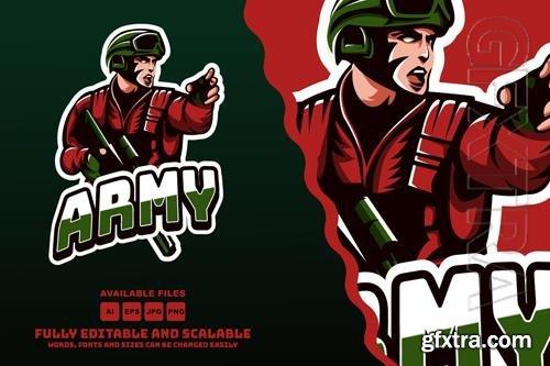 Army Mascots Logo Esports style vol 2
