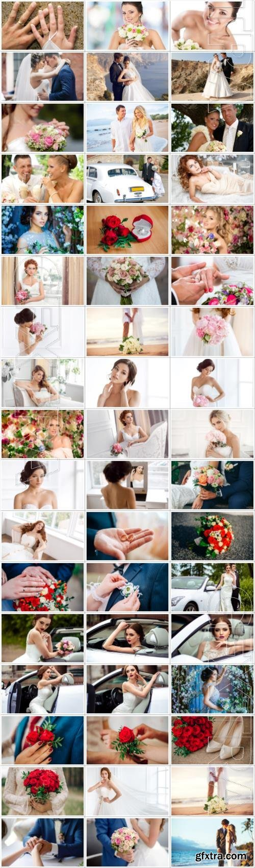 Wedding large collection of stock photos
